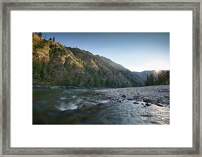River Of No Return Framed Print by Idaho Scenic Images Linda Lantzy