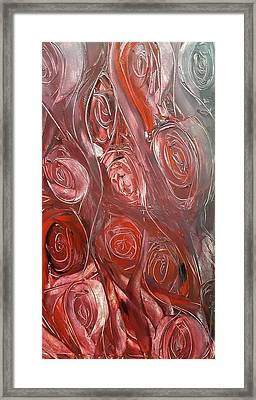 River Of Roses Framed Print