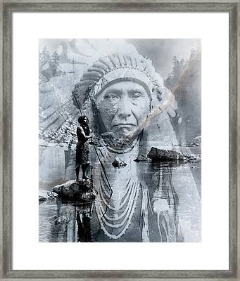 River Of Sorrow Framed Print