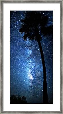 Framed Print featuring the photograph River Of Stars by Mark Andrew Thomas