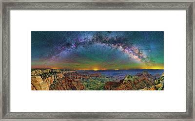 River Of Stars Framed Print