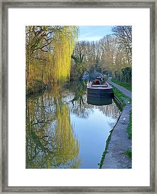 River Reflections  Framed Print by Gill Billington