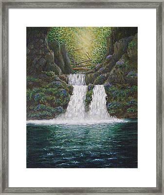 River Reverie Framed Print by Deborah Dallinga