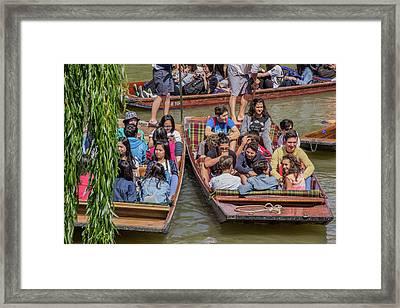 River Rush Hour Framed Print by David Warrington