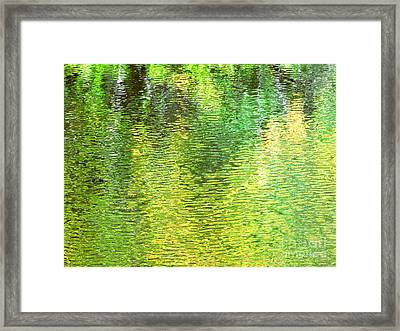 River Sanctuary Framed Print