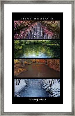 River Seasons Framed Print