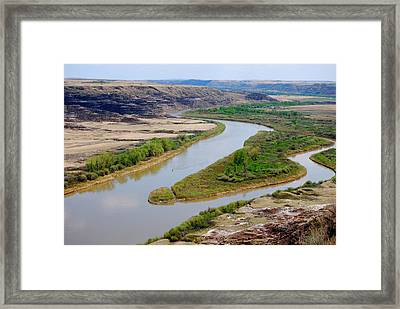 River Framed Print by Sergey and Svetlana Nassyrov