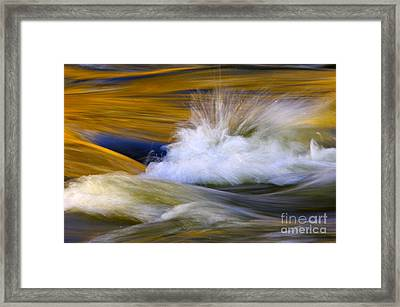 River Framed Print by Silke Magino