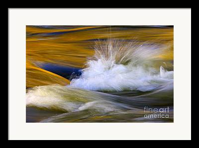 Flowing Stream Framed Prints