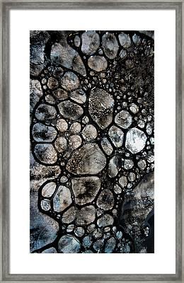 River Stone 14 Framed Print