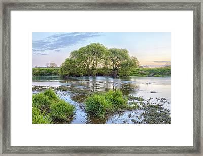 River Stour - England Framed Print by Joana Kruse