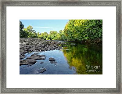 River Swale, Easby Framed Print