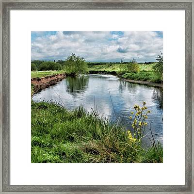 River Tame, Rspb Middleton, North Framed Print