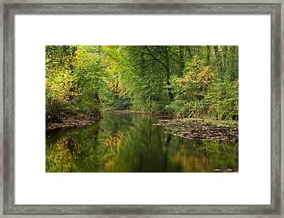 River Teign On Dartmoor Framed Print