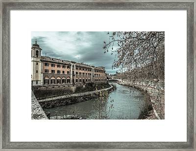 River Tiber Framed Print