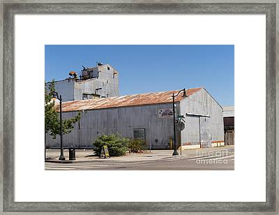 River Town Feed And Pet Country Store In Petaluma California Usa Dsc3840 Framed Print by Wingsdomain Art and Photography