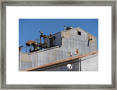 River Town Feed And Pet Country Store In Petaluma California Usa Dsc3842 Framed Print by Wingsdomain Art and Photography