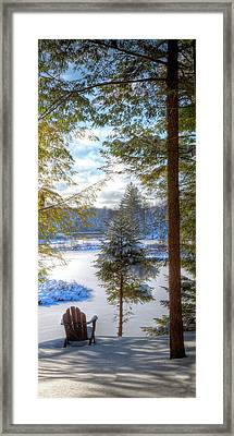 River View Framed Print by David Patterson