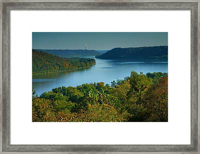 River View II Framed Print by Steven Ainsworth