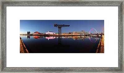 River View Panoramic Framed Print