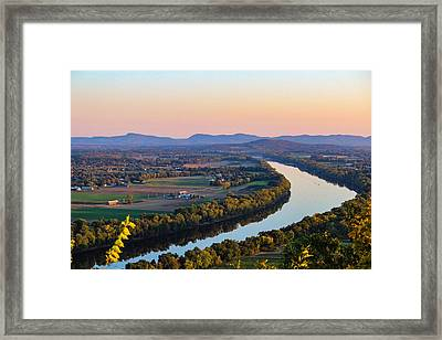 Connecticut River View  Framed Print