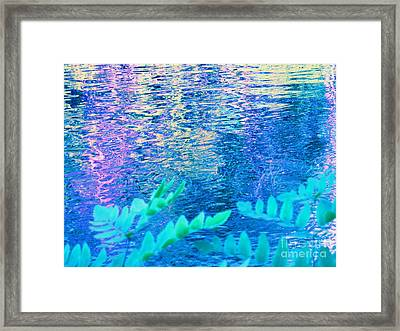Distractions From The River Waters Framed Print