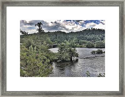 River Wonders Framed Print