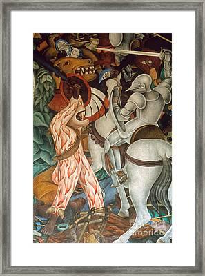 Rivera: Cuernavaca Framed Print