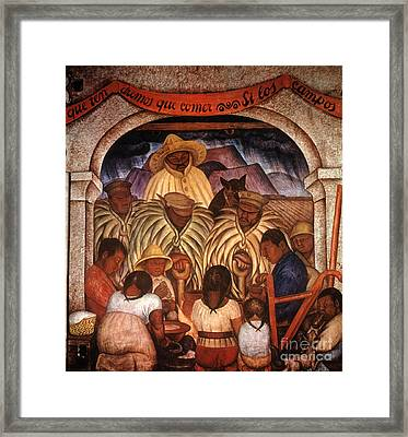 Rivera: Rain Framed Print