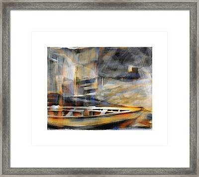 Riverboat Framed Print by Bob Salo