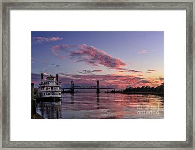 Cape Fear Riverboat Framed Print