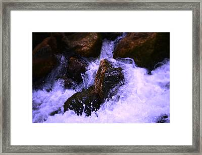 River's Dream Framed Print