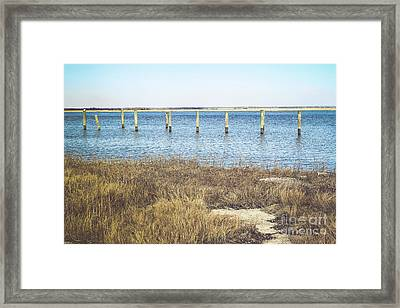 Framed Print featuring the photograph River's Edge by Colleen Kammerer