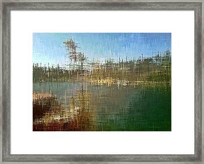 River's Edge Framed Print