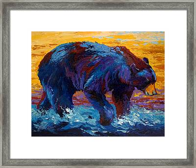 Rivers Edge II Framed Print by Marion Rose