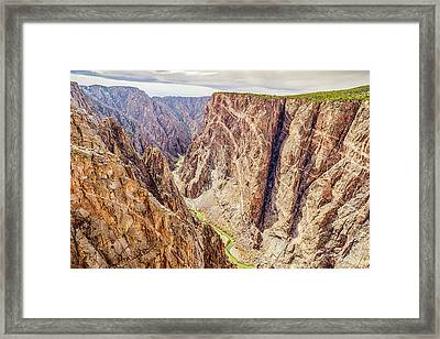 Framed Print featuring the photograph Rivers Of Time by Eric Glaser