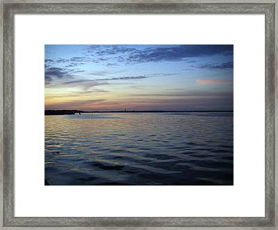 Rivers Peace Framed Print by Francis Roberts ll