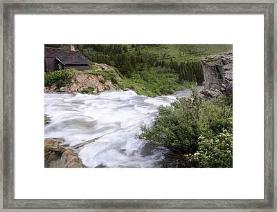 Riverside Framed Print by Keith Lovejoy
