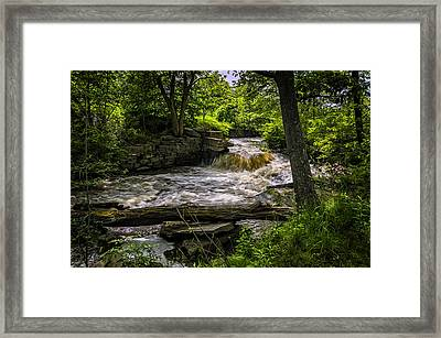 Riverside Framed Print by Mark Myhaver