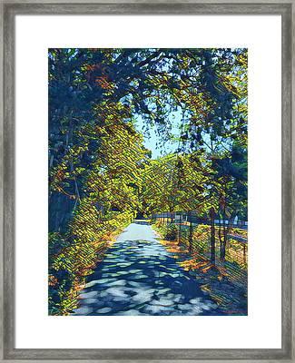 Riverside Park Framed Print