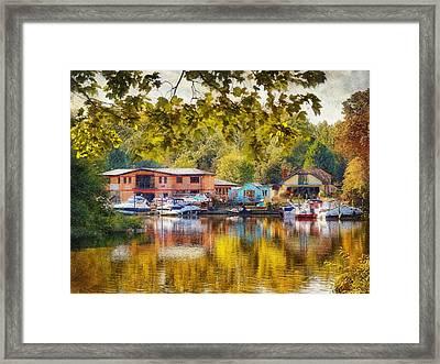 Riverview Ix Framed Print