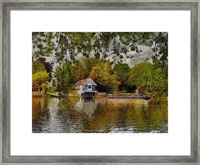 Riverview Vi Framed Print