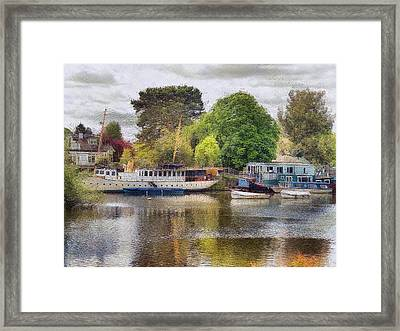 Riverview Vii Framed Print