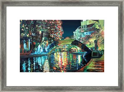 Riverwalk Framed Print
