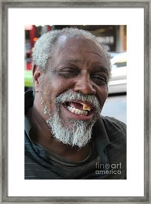 Riverwalk Carl Framed Print