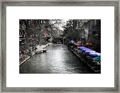 Riverwalk Framed Print by Shane Rees