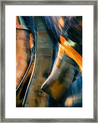 Riveting Framed Print by Jill Maguire