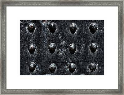 Riveting Framed Print by Olivier Le Queinec