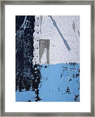 Rivet...metalwork Framed Print by Tom Druin