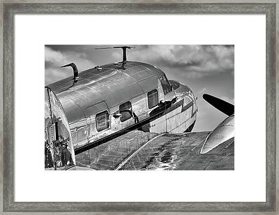 Rivets And Polished Metal Framed Print